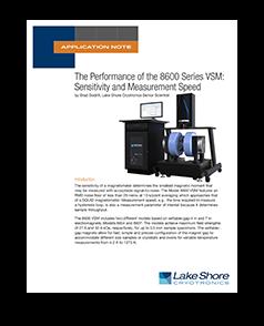 8600 sensitivity application note