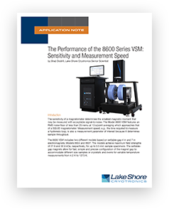 8600 sensitivity application note