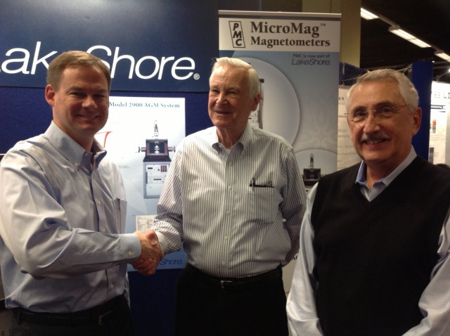 Michael Schwartz, CEO of Lake Shore, Harry Reichard and Tony Cumbo