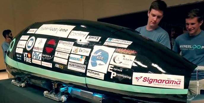 Vhyper pod showing Lake Shore sponsor sticker