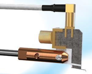 Quasi-Kelvin parametric probe for Lake Shore Cryotronics probe station