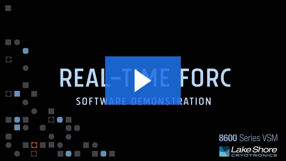 Real-Time FORC (RTForc) Video